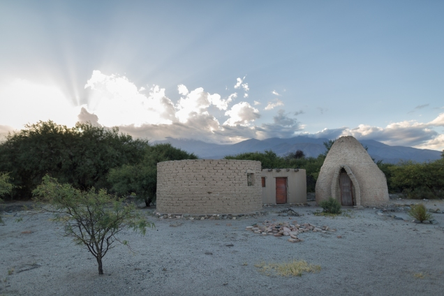 A dessert hut outside Cafayate.