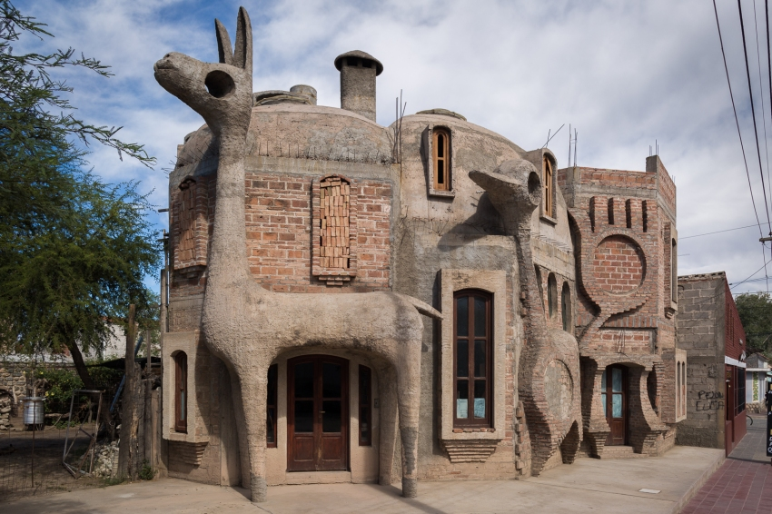 Probably the coolest building in Cafayate.