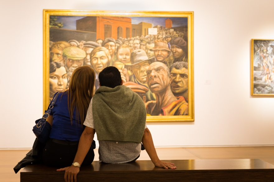 MALBA (Museo de Arte Latinoamericano de Buenos Aires) is one of the city's most popular museums.
