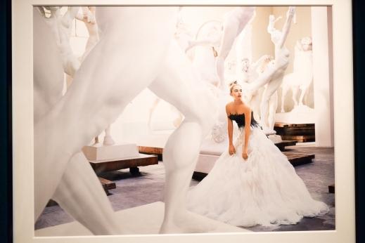 My favorite exhibit was of the work of Peruvian fashion photographer Mario Testino.
