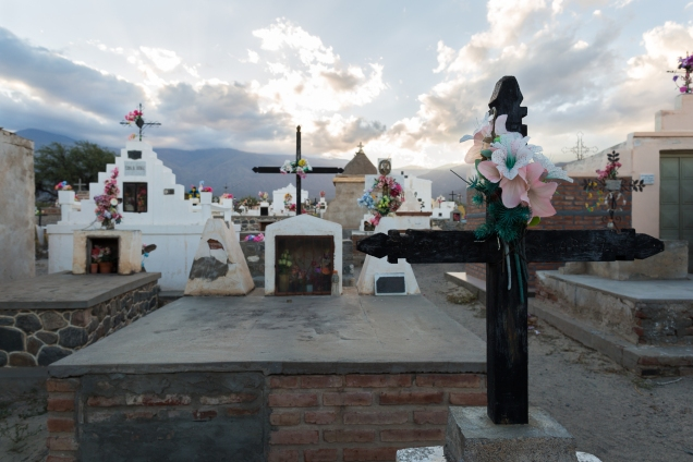 A cemetery outside Cafayate.
